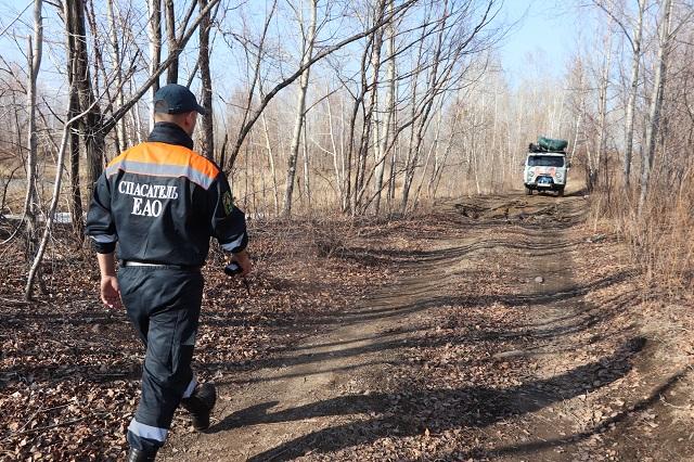 Спасатели начали поиски пропавшего в ЕАО человека