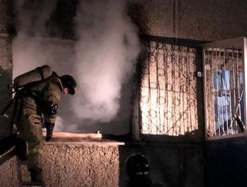 Трагедией закончился ночной пожар в биробиджанской пятиэтажке