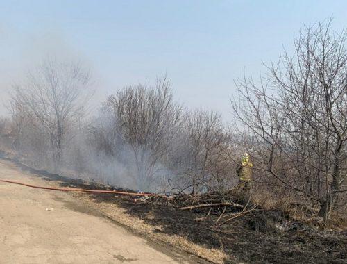 Пожароопасная обстановка в ЕАО на 26 апреля