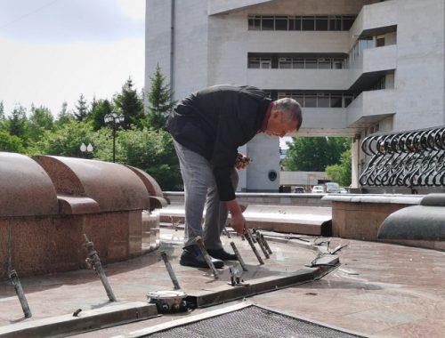 К 1 июня в Биробиджане заработают фонтаны
