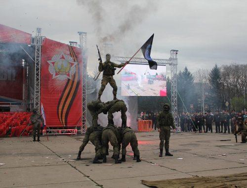 Навыки ведения боя и защиты с оружием продемонстрировали военнослужащие в ЕАО