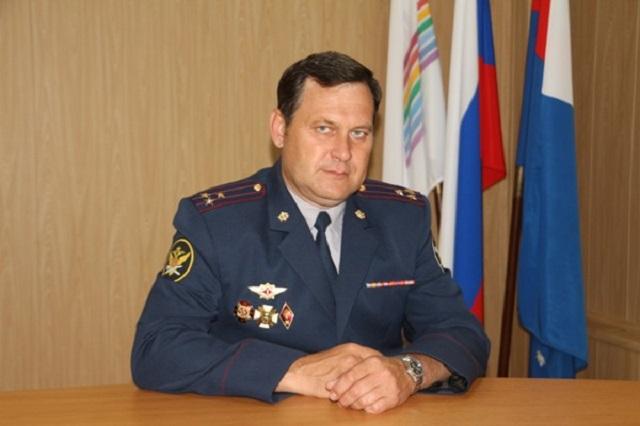 Начальника УФСИН по ЕАО Виталия Фомченко проводили на пенсию