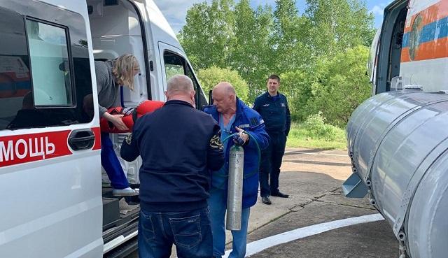 Новорожденного малыша эвакуировали из Биробиджана в Хабаровск