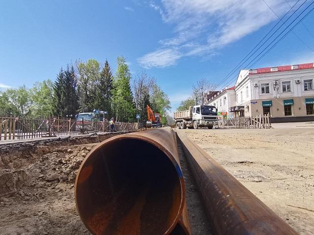 На несколько недель закроют участок дороги в Биробиджане