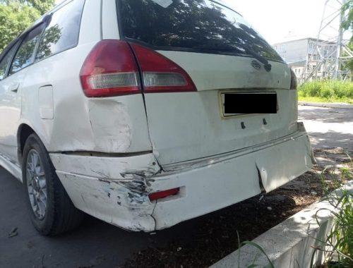 Водитель без прав спровоцировал ДТП в Биробиджане