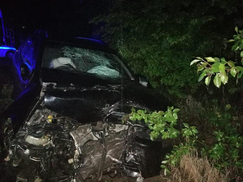 В ночном ДТП в ЕАО пострадал водитель иномарки
