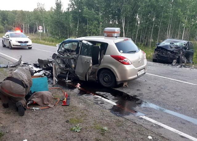 Один человек погиб, пять пострадали в ДТП на трассе в ЕАО