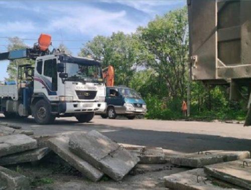 О новом методе ремонта дорог рассказал мэр Биробиджана
