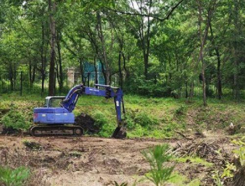 Строительство еще одного спортивного объекта началось в Биробиджане