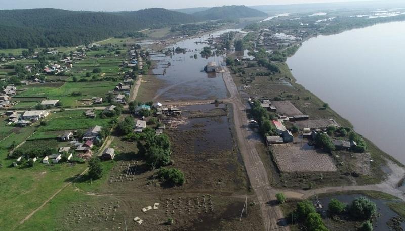 В Амурской области подтоплено 782 дома