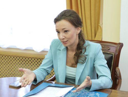 ЕАО посетила уполномоченный по правам ребенка в России Анна Кузнецова