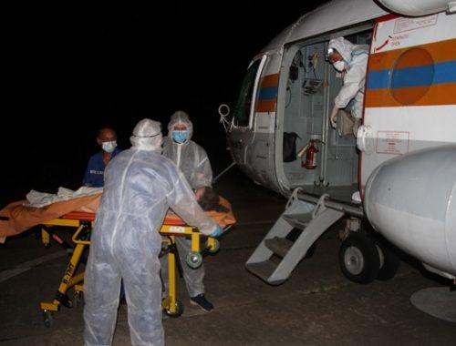 Срочная эвакуация потребовалась беременной женщине из Биробиджана