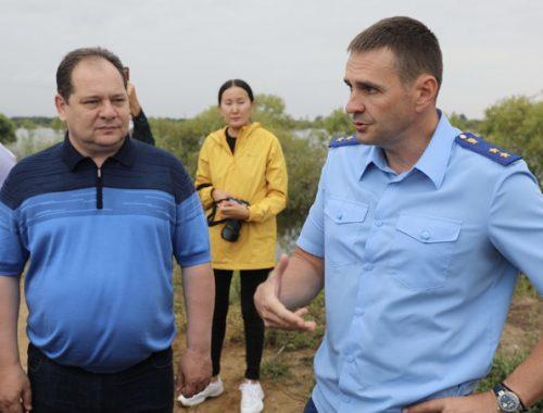 Заместитель Генерального прокурора РФ Дмитрий Демешин посетил ЕАО
