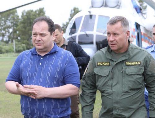 Глава МЧС России Евгений Зиничев посетил ЕАО
