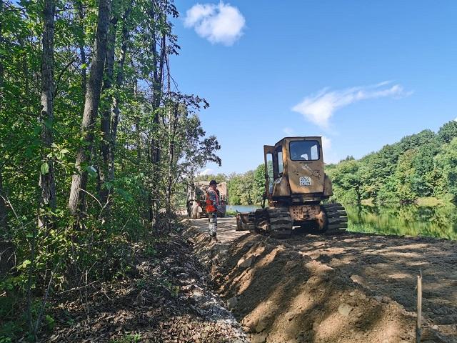 Реконструкция парка культуры и отдыха продолжается в Биробиджане
